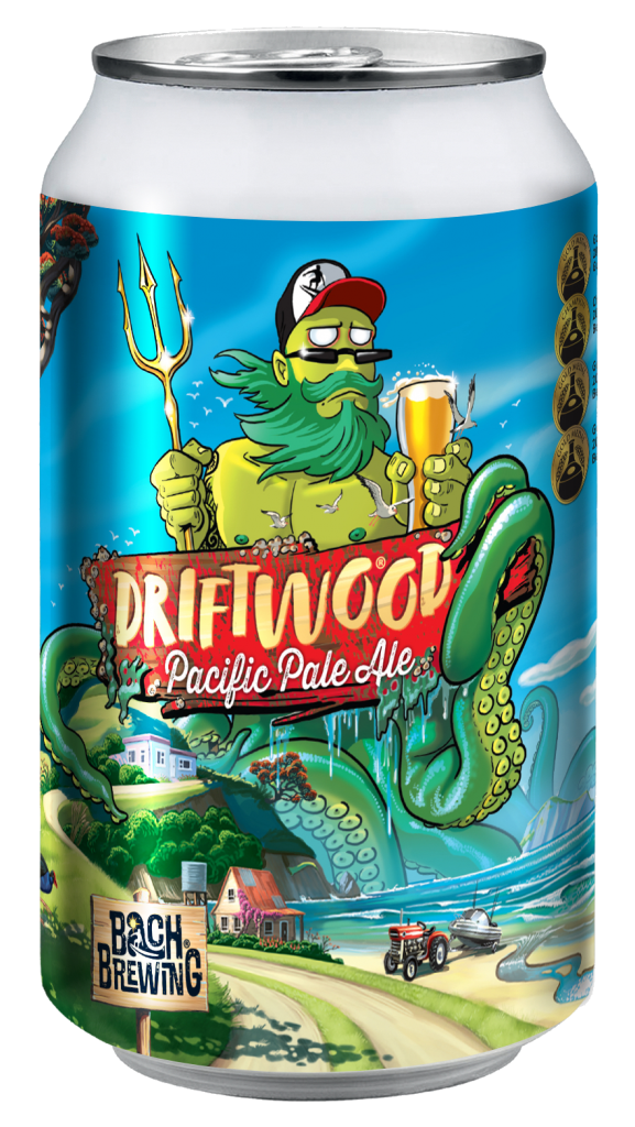 Bach Brewing Driftwood Pacific Pale Ale 330ml