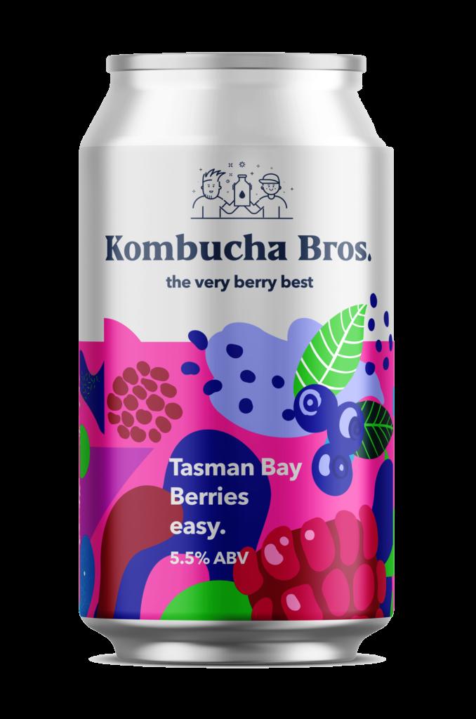 Kombucha Bros Tasman Bay Berries